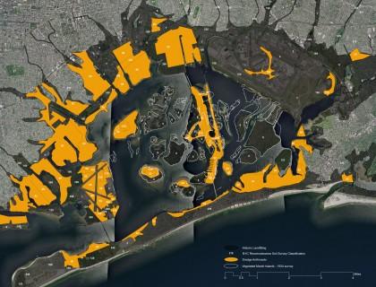 Mapping New York Harbor